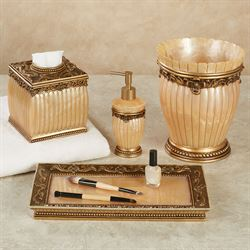 'Roma Lotion Soap Dispenser Gold' from the web at 'https://www.touchofclass.com/images/ml/T846-001.jpg'