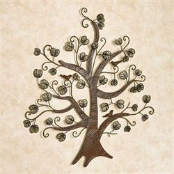 Breezy Tree Wall Art Dark Brown
