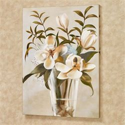 Floral Romance I Canvas Wall Art Multi Cool