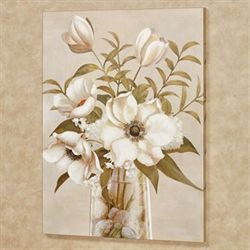 Floral Romance II Canvas Wall Art Multi Cool