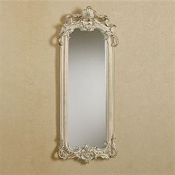 Dinah Accent Wall Mirror Ivory