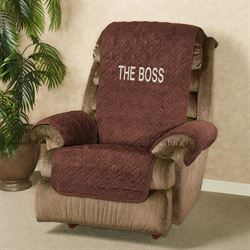 Mason Ultimate Furniture Protector Recliner Wing Chair