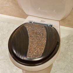 Grandeur Standard Toilet Seat Bronze