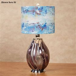 Metella Table Lamp Plum