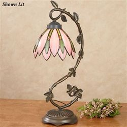 Tahmina Tulip Accent Lamp Light Pink