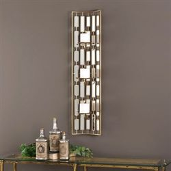 Loire Mirrored Wall Sconce Gold