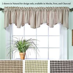 Branden Scalloped Valance 56 x 17