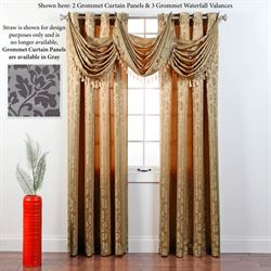 Leah Grommet Curtain Panel 55 x 84