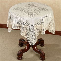 Canterbury Classic Lace Square Table Topper 36 x 36