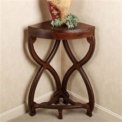 Ninan Corner TableRegal Walnut