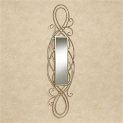 Kristina Panel Wall Mirror Light Gold