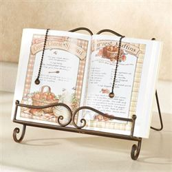 Towley Cookbook Stand Antique Bronze