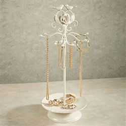 Wings of Love Jewelry Holder Ivory/Gold