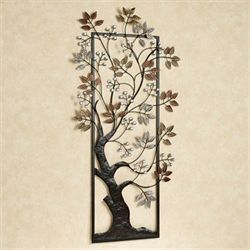 Sun Kissed Branches Wall Art Brown