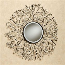Pearl Elegance Wall Mirror