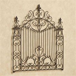 Gates of Italy Wall Grille Antique Bronze