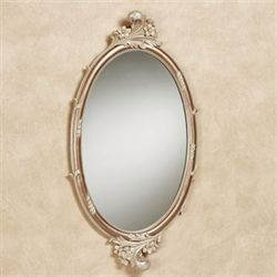 Alynna Oval Wall Mirror Mocha