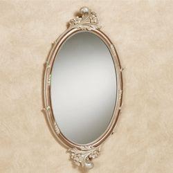 Alynna Oval Wall Mirror Mocha