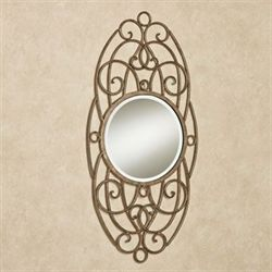 Ianira Wall Mirror Antique Gold