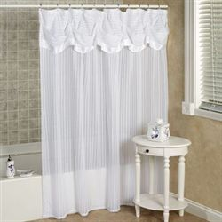 Nimbus Stripe Shower Curtain 70 x 72