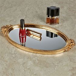 Corliss Vanity Tray Gold