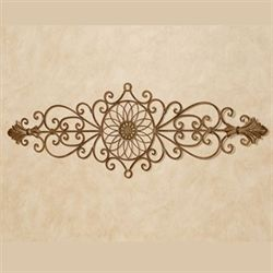 Aria Wrought Iron Wall Grille Satin Gold