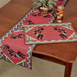 Kokopellis Table Runner Cinnamon 13 x 72