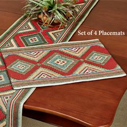 Izmir Placemats Cinnamon Set of Four
