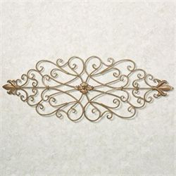 Amando Wrought Iron Wall Grille Satin Gold