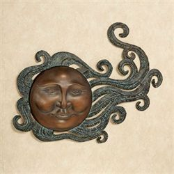Sun Dance Iron Wall Art Aged Bronze