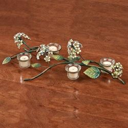 Spring Romance Tealight Candelabra Multi Earth