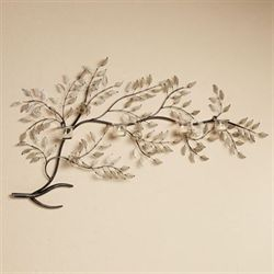 Moment of Peace Branch Wall Candelabra Brushed Bronze