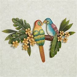 Paradise Perch Metal Wall Art Multi Cool
