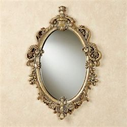 Livorno Wall Mirror Aged Gold
