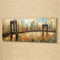 City Skyline Canvas Art Multi Earth