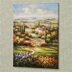 Tuscan Retreat Canvas Art Multi Warm