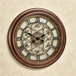 Eternal Love Wall Clock Bronze