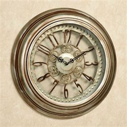 Illene Wall Clock Light Bronze