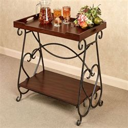 Claire Tray Table Regal Walnut
