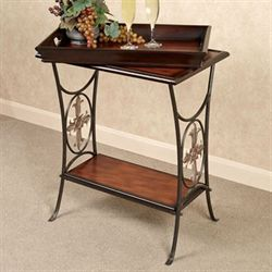 Francine Tray Table Natural Cherry