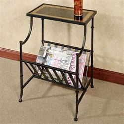 Regency Magazine Table Bronze