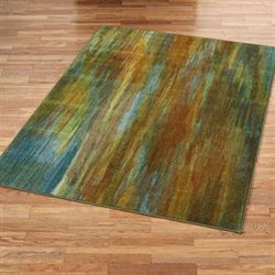 Dapple Rectangle Rug Green
