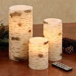 Ancient Roots LED Candle Brown