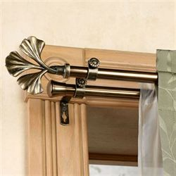 Fortune Double Curtain Rod Set