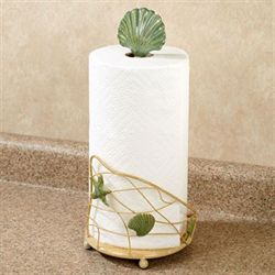 Sandy Side Paper Towel Holder Flax