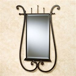 Bently Wall Mirror Burnished Copper