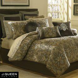 Tosca Comforter Set Tan