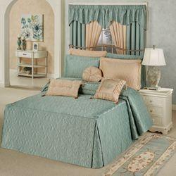 Cambridge Classics Grande Bedspread Aqua Mist