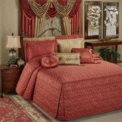 Cambridge Classics Grande Bedspread Cinnabar