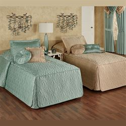 cambridge classics fitted quilted bedspread bedding - Touch Of Class Bedding